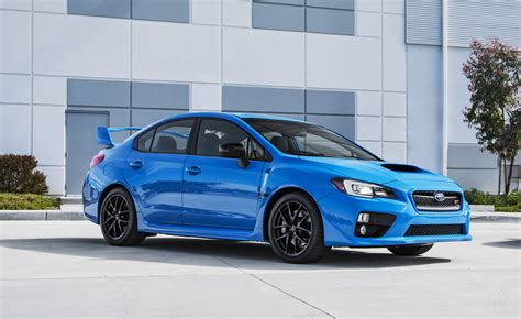 blue subaru limited edition subaru series hyperblue wrx sti brz priced