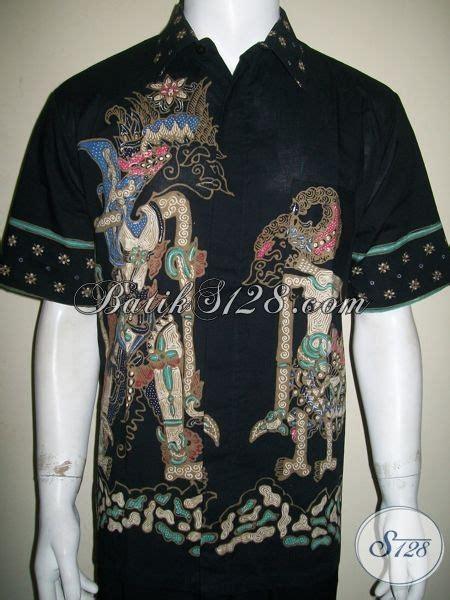 Gamis Batik Wayang Gunungan batik wayang pria kemeja batik wayang motif baladewa dan arjuna ld1299t l toko batik