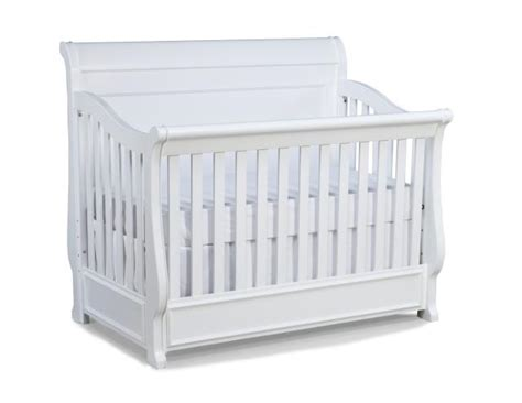 Convertible Crib Guard Rail Legacy Furniture White Convertible Crib With Toddler Daybed And Guard Rail The Home