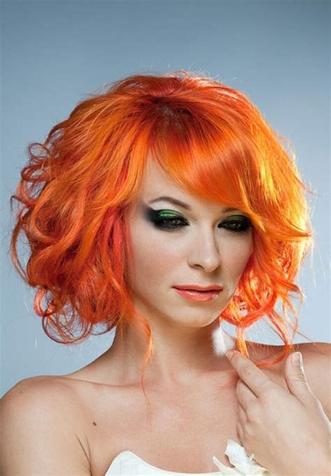 orange hair color 25 hair color trends 2012 2013 hairstyles