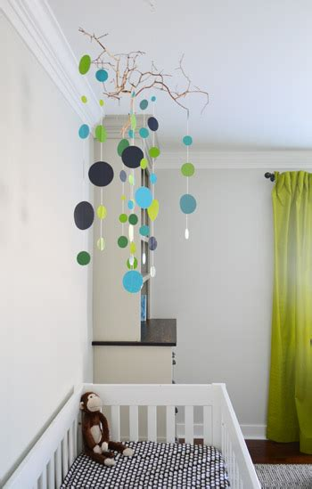 Handmade Mobiles For Nursery - an easy handmade nursery mobile room babies and house