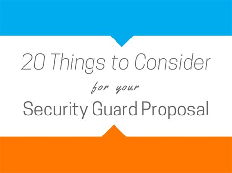 things to consider in getting the contract gallery of security guard contract