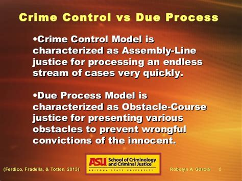 Due Process Of Beyond The State crime and due process in the united states