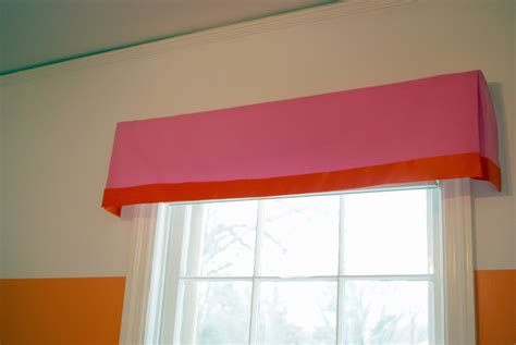 Window Valance Box High Heeled Foot In The Door Diy No Sew Box Pleat Valance