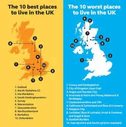 solihull comes top while scottish towns fare worst in standard of living league daily mail