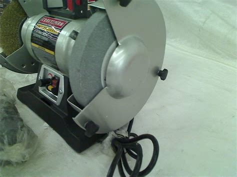 craftsman variable speed bench grinder craftsman professional variable speed 6 quot bench grinder ebay
