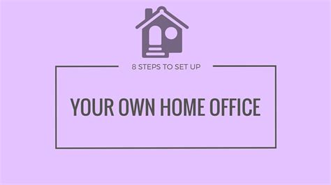 8 Tips On Setting Up A Successful by 8 Tips To Set Up Your Own Home Office