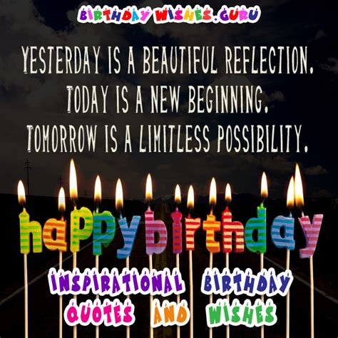 Inspirational Birthday Quotes Inspirational Birthday Quotes And Wishes