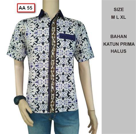 Kemeja Pria Batik Baju Pria Kemeja Murah Baju Kemeja Katun Stretch 11 harga baju muslim pria murah baju kemeja lengan pendek