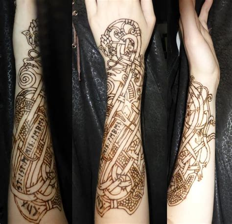 henna tattoo prices ireland 92 best images about viking and norse ideas on