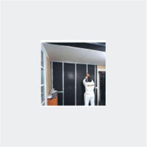 Isolation Plafond Epaisseur by Syst 232 Me D Isolation Acoustique De Faible 233 Paisseur Pour