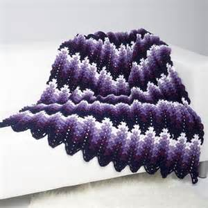 Grey And White Chevron Rug Perfectly Purple Ripple Throw