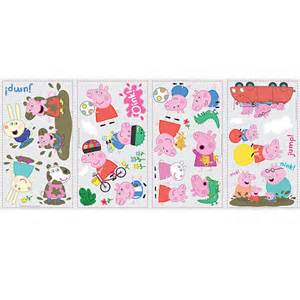 Peppa Pig Wall Stickers Roommates Peppa Pig Peel Amp Stick Wall Decals Toys Quot R Quot Us