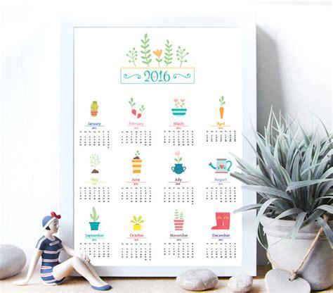 Calendar Design Tips | 50 absolutely beautiful 2016 calendar designs hongkiat