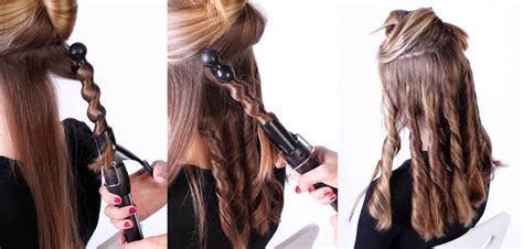 hair styles with bubble wand hairstyles using curling iron 2017 2018 best cars reviews
