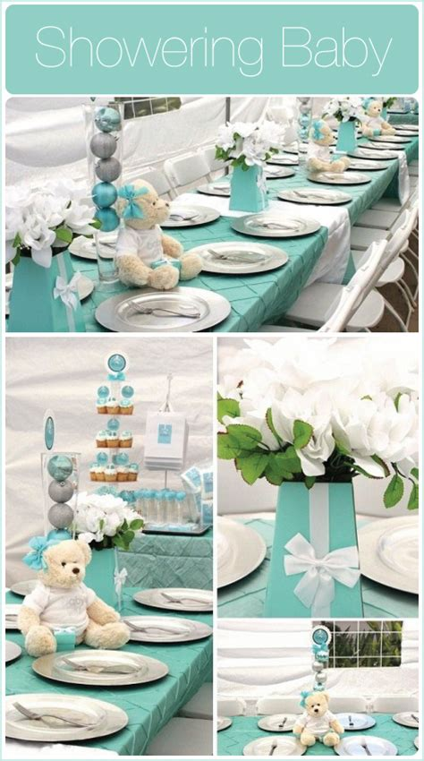 Blue Baby Shower Ideas by Eco Chic Blumeboxes For A Blue Baby Shower Ideas