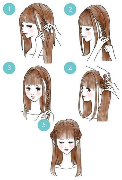 diy anime hairstyles the 25 best ideas about kawaii hairstyles on pinterest