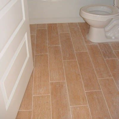 a faux wood floors