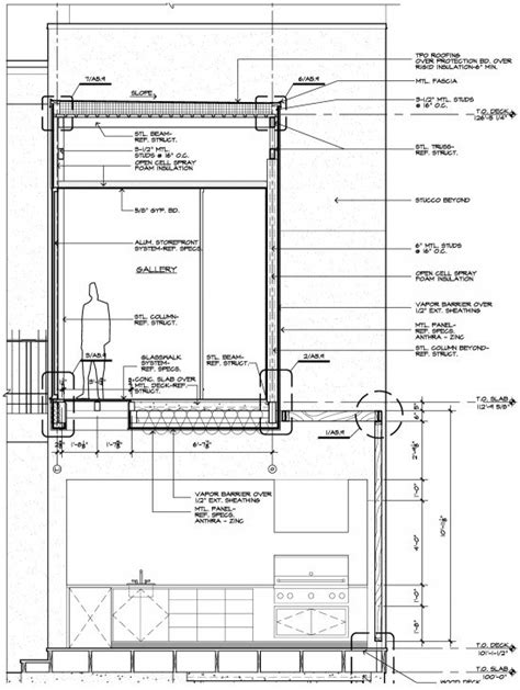 drawing section view rules architectural graphic standards life of an architect