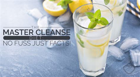 Realine Gentle Detox by The Master Cleanse Diet No Fuss Just Facts