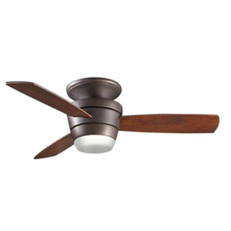Allen And Roth Ceiling Fan Remote by Shop Allen Roth Mazon 44 In Rubbed Bronze Flush