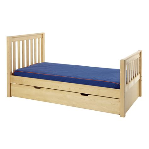 twin bed slats twin bed in natural with slat bed ends by maxtrix 210
