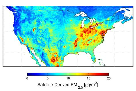 air pollution map america nasa new map offers a global view of health sapping air