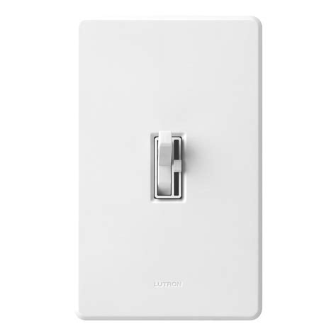 light switch with dimmer lutron led cfl dimmer switch turns lights the