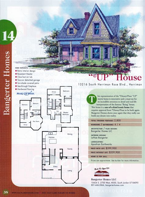 up house floor plan utah home inspired by disney movie up sold diva diaries