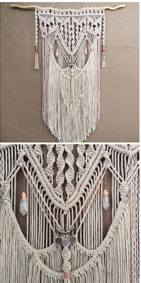 How To Learn Macrame - 25 melhores ideias sobre macrame wall hangings no