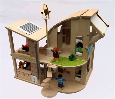 plan toys dolls house made out of cardboard box doll house made free engine