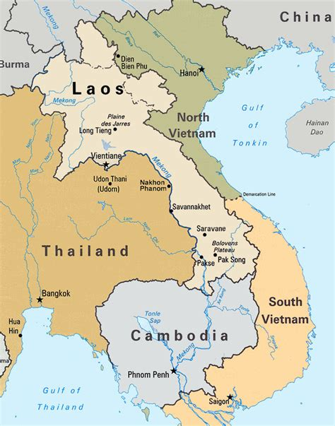 map of laos image gallery laos maps