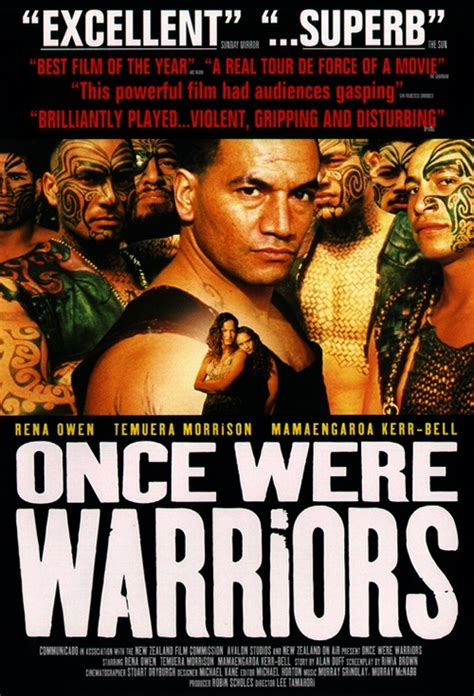 Themes In The Film Once Were Warriors | movie poster for once were warriors flicks