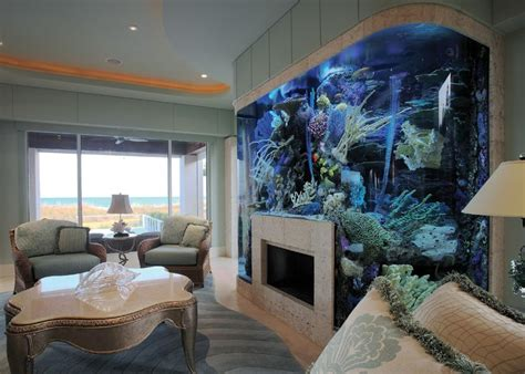 Living Room Aquarium | 8 extremely interesting places to put an aquarium in your home
