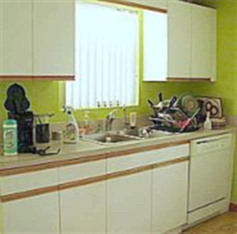 How To Refinish Laminate Cabinets by Refinished Kitchen Cabinets On Kitchen Cabinet