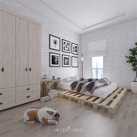 Wallpaper Dinding Vinyl Batu Bata Abu Abu Ro Dv1170 16 inspirasi dekorasi dan desain kamar tidur minimalis