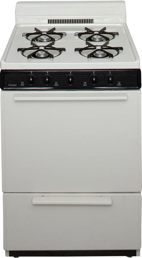 Premier Stove Knobs by Premier Bck100tp 24 Inch Freestanding Gas Range With 4