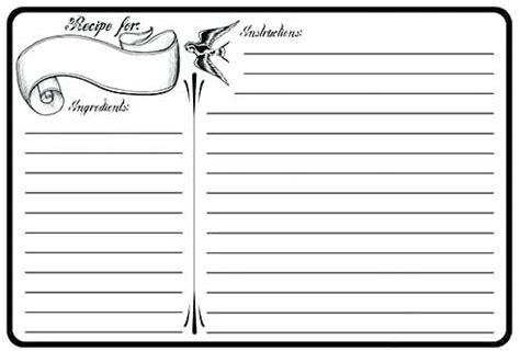 recipe card template for mac 4 215 6 recipe card template recipes for mac spitznas info