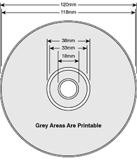 cd dimensions template everest printing design guide