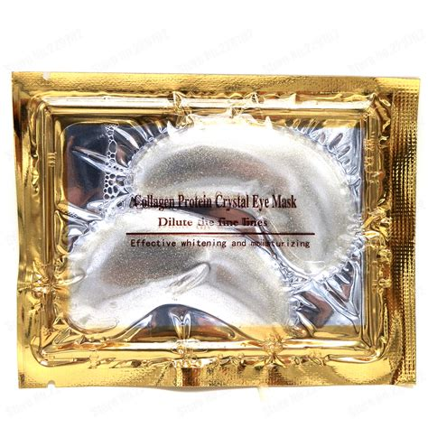 Fastron Gold With Nano Guard 5 packs lot new nano gold powder transparent collagen protein eye mask gel eye mask