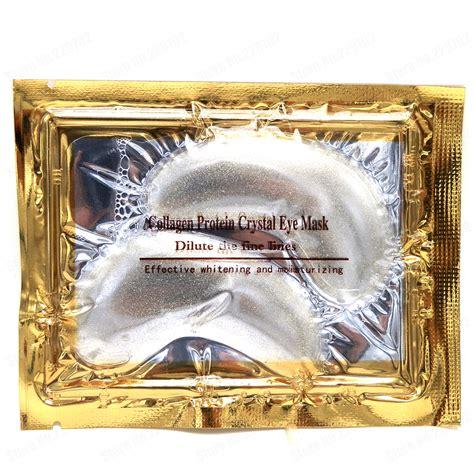 Nano Gold Mask 5 packs lot new nano gold powder transparent collagen