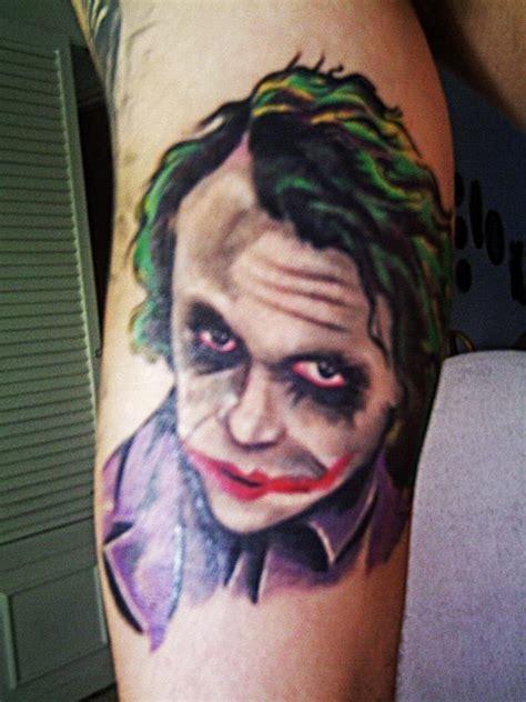 jokers tattoo and body fx calgary devilion tattoo the joker tattoos