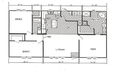 2 bedroom single wide floor plans 1000 images about double wide mobile home floor plans on