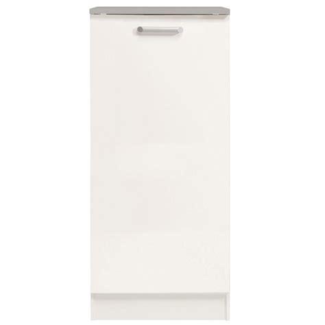 demi armoire de cuisine 60cm quot shiny quot blanc
