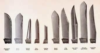 Kitchen Knives Types Chart Of Knife Patterns
