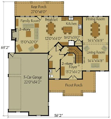 formal plan with angled garage 69353am architectural 66 best floor plans images on pinterest
