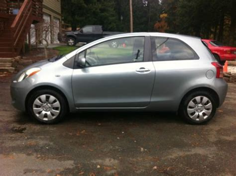 2007 Toyota Yaris Problems Sell Used 2007 Toyota Yaris Base Hatchback 2 Door 1 5l In