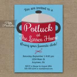 potluck invitations printable pot luck dinner invites