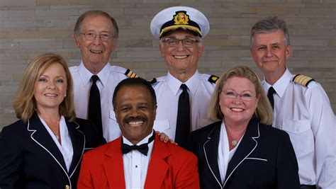 the love boat gopher and julie love boat cast sails again dishes on kissing and more