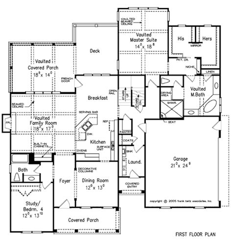 Frank Betz Floor Plans by Summerlake Home Plans And House Plans By Frank Betz